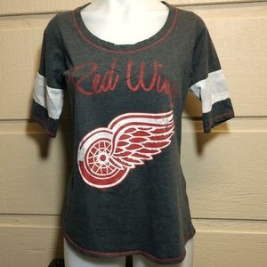 NHL Detroit Red Wings graphic tee L